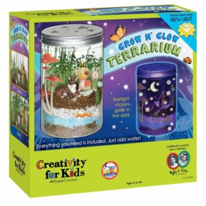 jouets garçon 6 ans Creativity For Kids Grow 'n Glow Terrarium