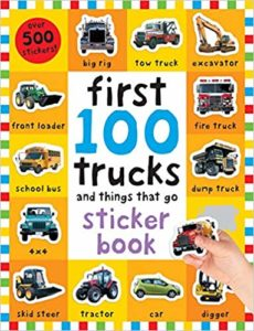 First 100 Stickers Trucks