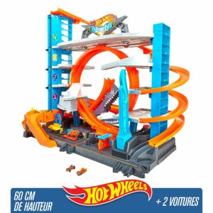 Hot Wheels City Garage Ultime - coffret de jeu