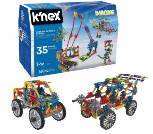 jouet garcon 7 ans KNEX 35 MODEL ULTIMATE BUILDING SET
