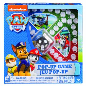jeu de societe 4 ans Paw Patrol - Jeu Pop Up