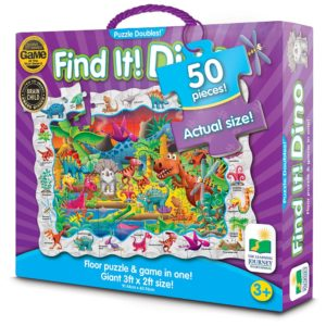 The Learning Journey Puzzle Doubles Find It! Dinosaures jeux de societe 4 ans