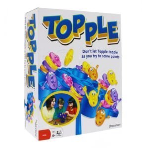 jeu de societe 6 ans Topple Action Game Fun
